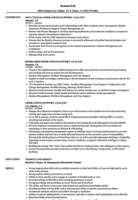 comfort isd jobs operations support analyst resume sles velvet jobs