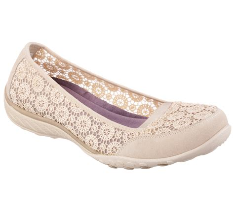 Pretty Fit Flat Shoes buy skechers s relaxed fit breathe easy pretty