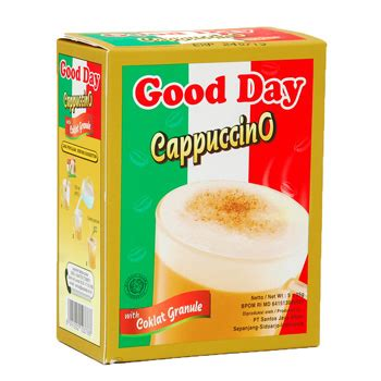 Day Cappucino Coffee Kopi Goodday day cappuccino box 5x25gr products indonesia day cappuccino box 5x25gr supplier