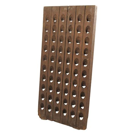 chanpagne riddling rack at 1stdibs