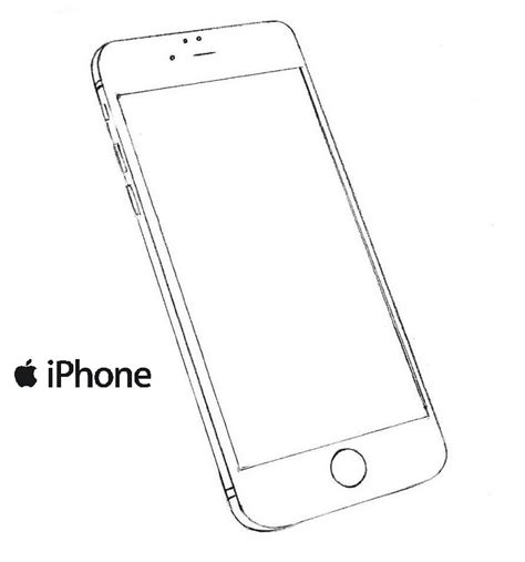 Iphone 7 Coloring Pages by New Iphone Model Coloring Picture