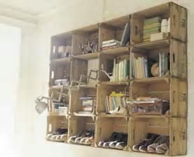 Big Bookshelves For Sale - como fazer estantes com caixotes de madeira artesanato com
