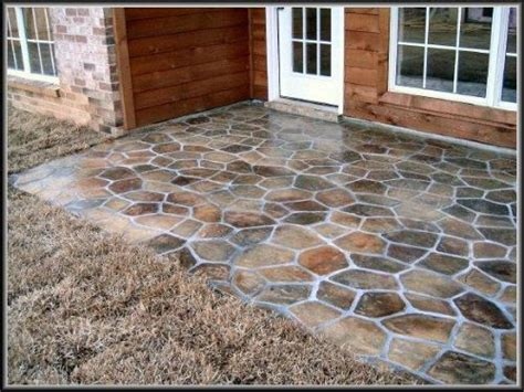 Concrete Patio Floor Covering Options Pictures to Pin on