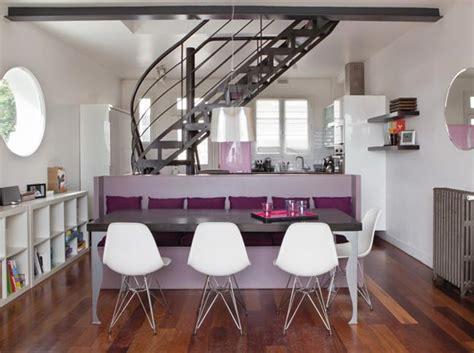 Incroyable Deco Salon Gris Et Mauve #1: photo-decoration-deco-salle-a-manger-mauve-6.jpg