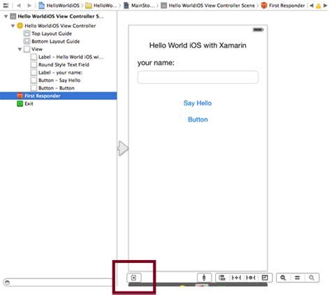tutorial xamarin ios español tutorial desarrollo de aplicaci 243 n para ios con xamarin