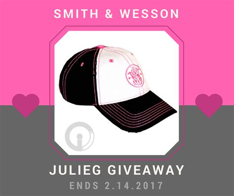 Hat Giveaway - be my valentine smith wesson pink hat giveaway julie golob