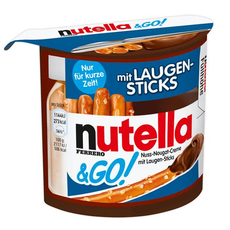Nutella Go Nutella Go nutella go mit laugensticks kaufen im world of