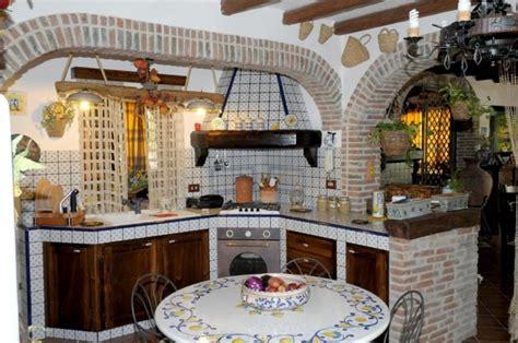piastrelle cucina muratura cucine in muratura rustiche e moderne foto 15 40