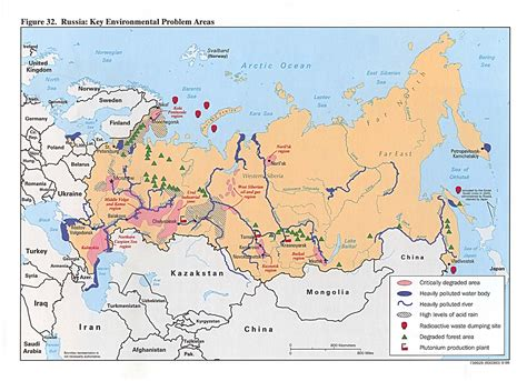 russia map area russia and the former soviet republics maps perry
