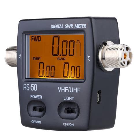 Nissei Digital Swr Power Meter Rs 50 Made In Taiwan aliexpress koop rs 50 digitale swr watt meter nissei 125 525 mhz uhf vhf m type connector