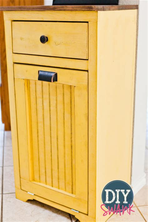 tilt out cabinet plans 12 tilt out trash cabinets to stash unsightly garbage can