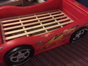 Lightning Mcqueen Car Bed For Sale Cars Lightning Mcqueen Junior Bed United Kingdom Gumtree