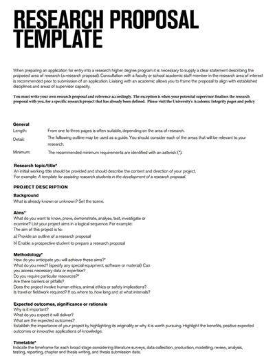 research proposal template best resumes