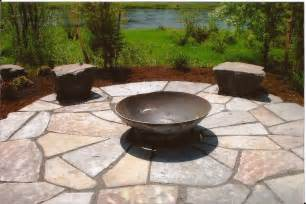 Firepit Pavers Paths And Patios Frontier Landscaping
