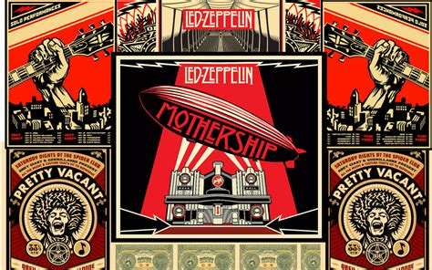 Led Zeppelin Mothership led zeppelin mothership by armin09 on deviantart