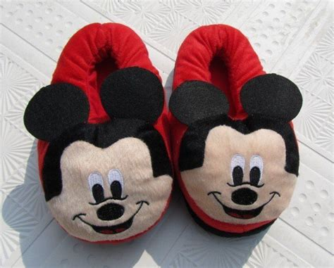 mickey mouse shoe slippers 17 best images about slippers on
