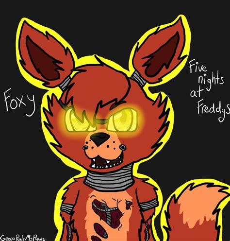 fox 5 fan of the day fanart foxy fnaf by geenarulzmypaws on deviantart