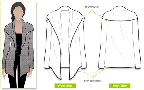 knitting pattern design software reviews stylearc laura knit cardi