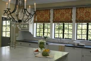 kitchen shades kitchen roman shades traditional kitchen burnham design
