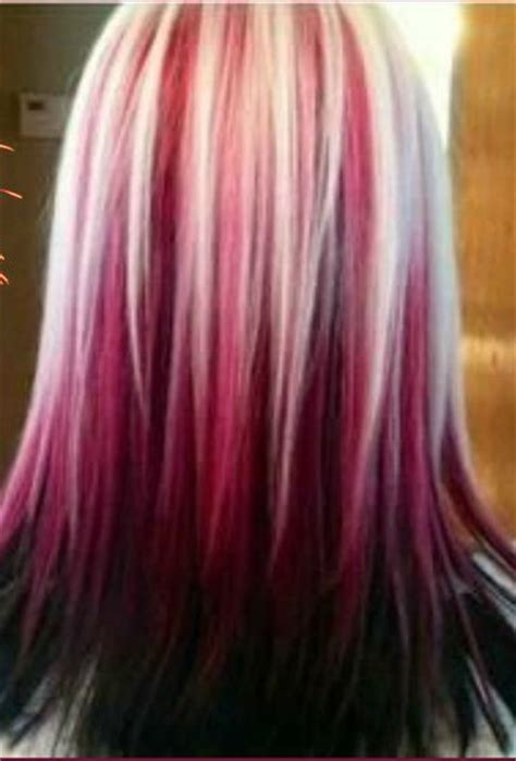 Black Hair To Raspberry Hair | raspberry sundae hair colour colorful hair to dye for