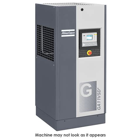 air compressor ga 11 vsd 175 ff 230 3 60 injected compressor from atlas copco