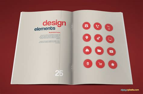 book template design 15 professional brand guidelines templates bundle