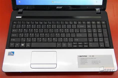 Keyboard Laptop Acer E1 531 acer aspire e1 531 preview