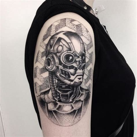 biomechanical tattoo step by step cyborg tattoo www imgkid com the image kid has it
