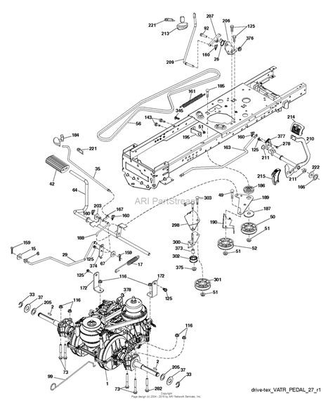 husqvarna belt diagram husqvarna yta22v46 96045005100 2015 07 parts diagram