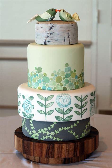 nature inspired wedding cakes trusper