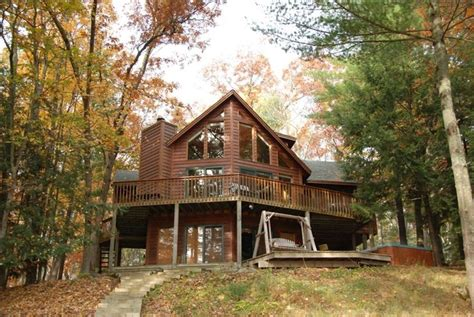 Rustic Family Cabin On The Lake Sleeps 12 Fabulous 4 Br Lake Cabin Wisconsin Woods Vrbo