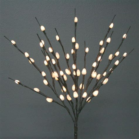 battery operated led display lights 20 quot natural willow battery operated led lights