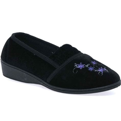 womens dunlop slippers dunlop camilla womens slippers from charles