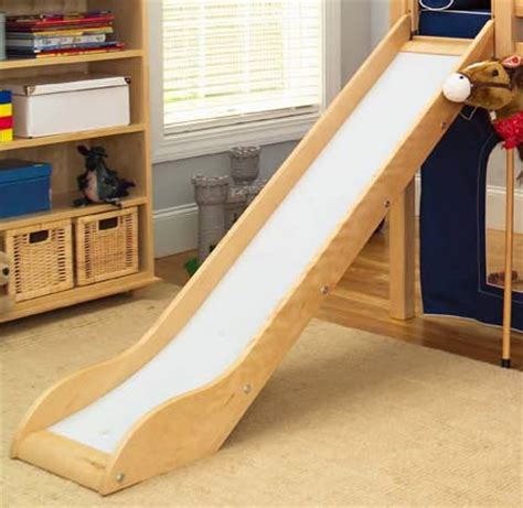 slide attachment for bunk bed slide for maxtrix bed shown in natural