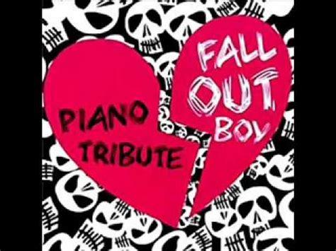 xo fall out boy the piano tribute to fall out boy xo youtube