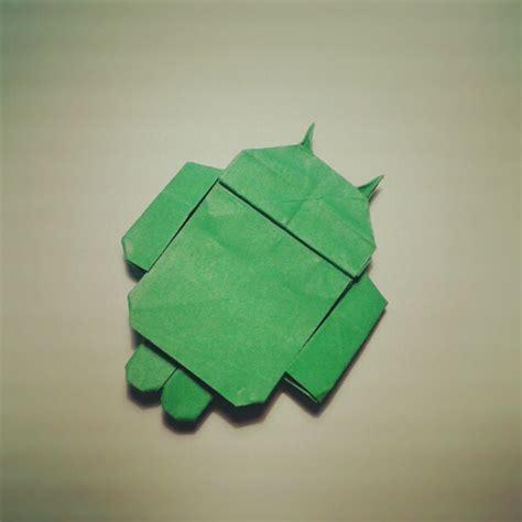 Origami Android - origami android galletita de jengibre