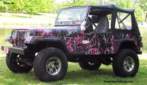 Muddy By Moonshine Camouflage Jeep Wrap