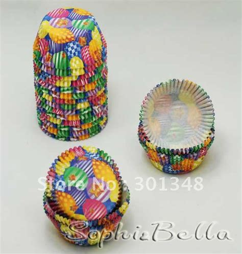How To Make Baking Paper Muffin Cases - 400 pcs colorful balloons theme cupcake liners paper