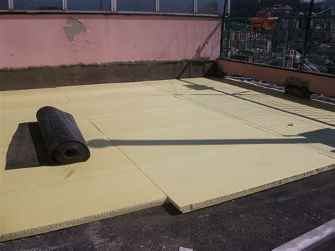 isolanti per terrazzi isolamento termico terrazzo cemento e mattoni