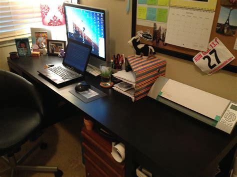 April Goals Update My Office Desk