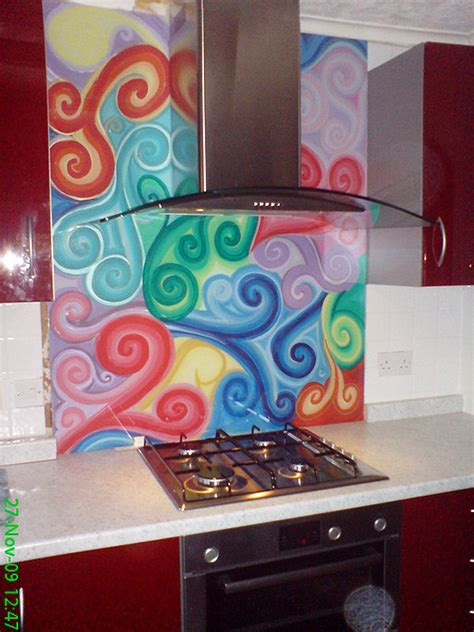 funky kitchens ideas kitchen cabinets funky kitchen splashbacks