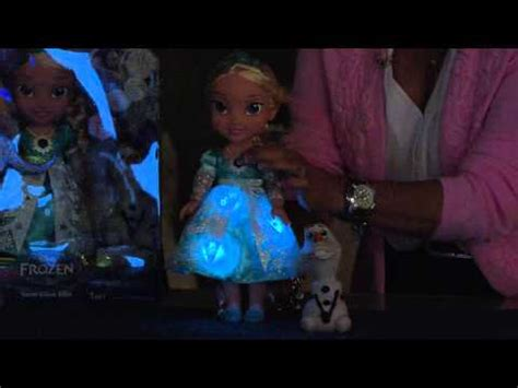 frozen light up dress disney s frozen singing elsa doll with light up dress and