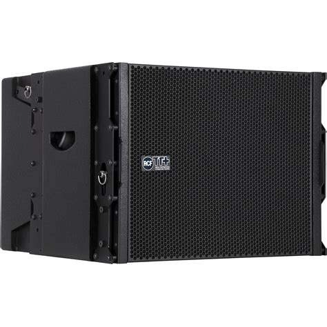 Speaker Line Array Rcf rcf ttl12 as active line array subwoofer module ttl12 as b h