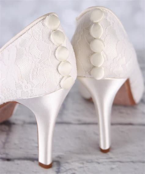 Hochzeitsschuhe Ivory by Ivory Wedding Shoes Lace Wedding Shoes Ivory Lace