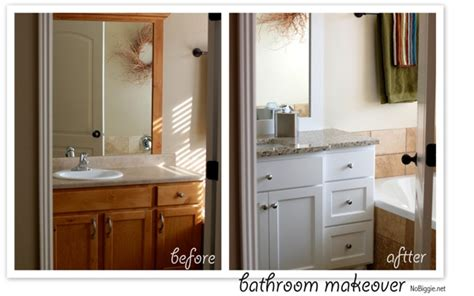 master bathroom redo before and after pics