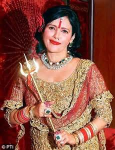 'kaali maa is depicted in lesser clothes' than radhe maa