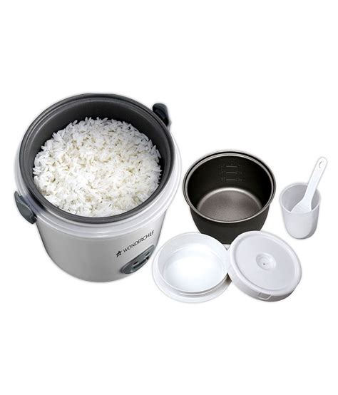 Rice Cooker Mini 1 Liter wonderchef mini rice cooker 0 5l price in india buy