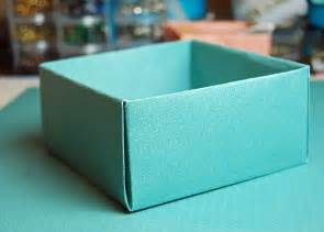 How To Make Box Of Paper - origami box with fold cover seaside creativity