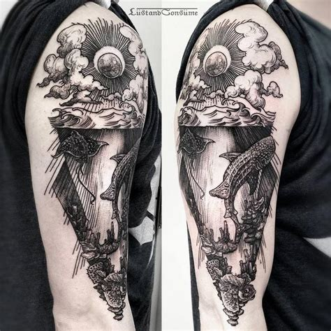 scene tattoos underwater best design ideas