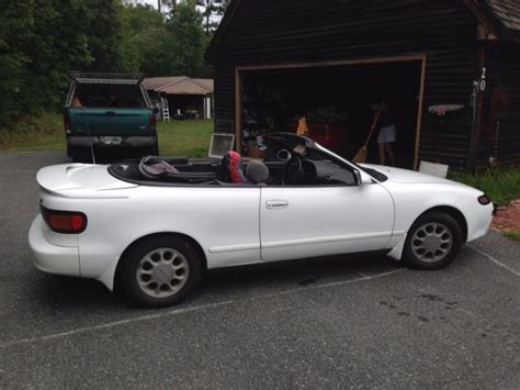hayes car manuals 1993 toyota celica transmission control 1993 white toyota celica convertible used nh driven only